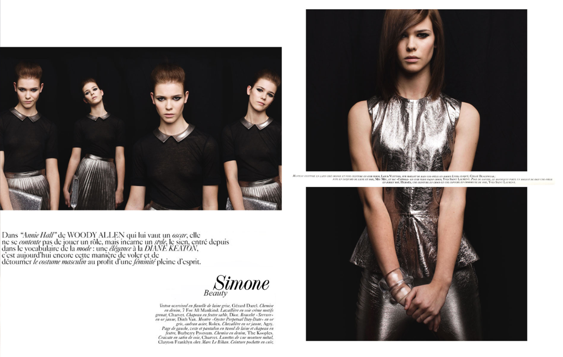 Simone French Vogue